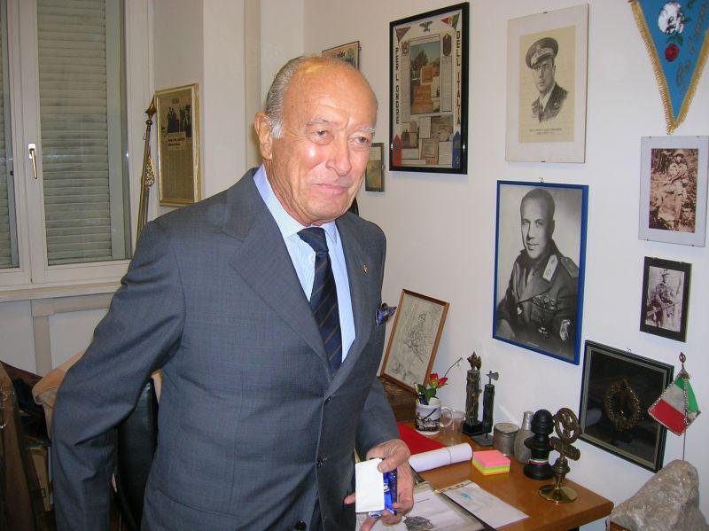 Carlo Panzarasa, un volontario di Francia