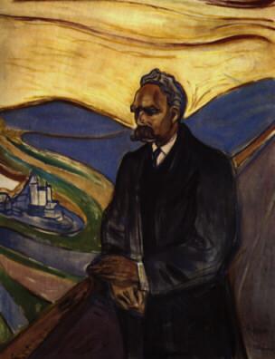 Pellegrino sulla tomba di Nietzsche – Mario Michele Merlino