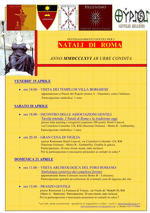 NATALI DI ROMA