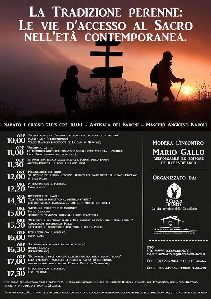 1 Giugno 2013 Napoli e la Tradizione Perenne