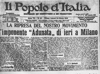 """23 marzo 1919: la """"congiura dei santi pazzi"""" (parte prima)"""