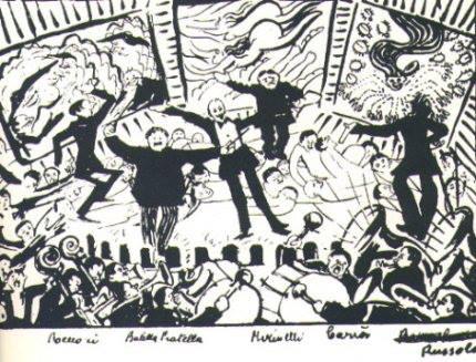 11 gennaio 1919: serata futurista a Milano (parte prima)