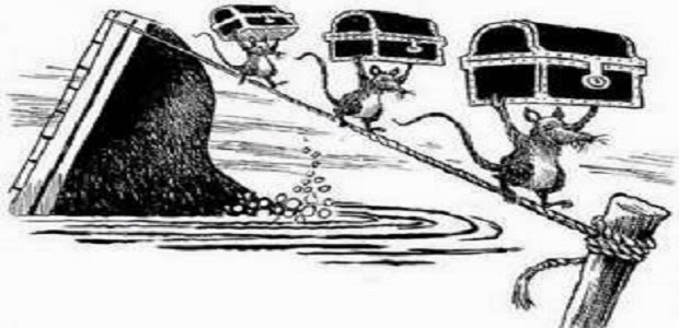 La barca e i topi