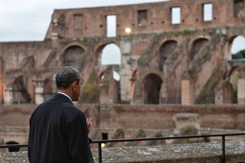 Obama in Europa: cartoline dalla periferia dell'impero