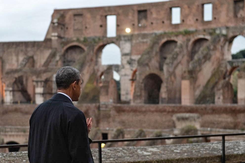 Obama in Europa: cartoline dalla periferia dell'impero