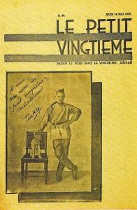 """La copertina del Petit Vingtième del 15 maggio 1931, appena finita la pubblicazione di """"Tintin nel Paese dei Sovieti"""""""