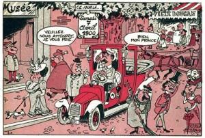 Un disegno di Paul Jamin, collaboratore di Degrelle al Pays Réel