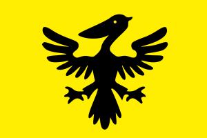La bandiera dell'immaginaria Sildavia