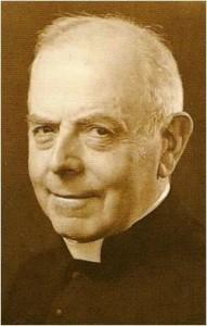 L'abate Norbert Wallez, direttore del XX Siècle