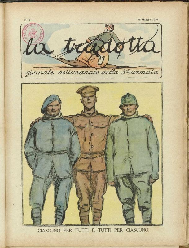 """""""La Tradotta"""" (prima parte – nn. 1/10)"""
