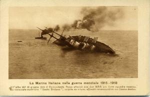L'affondamento della Santo Stefano a Pola