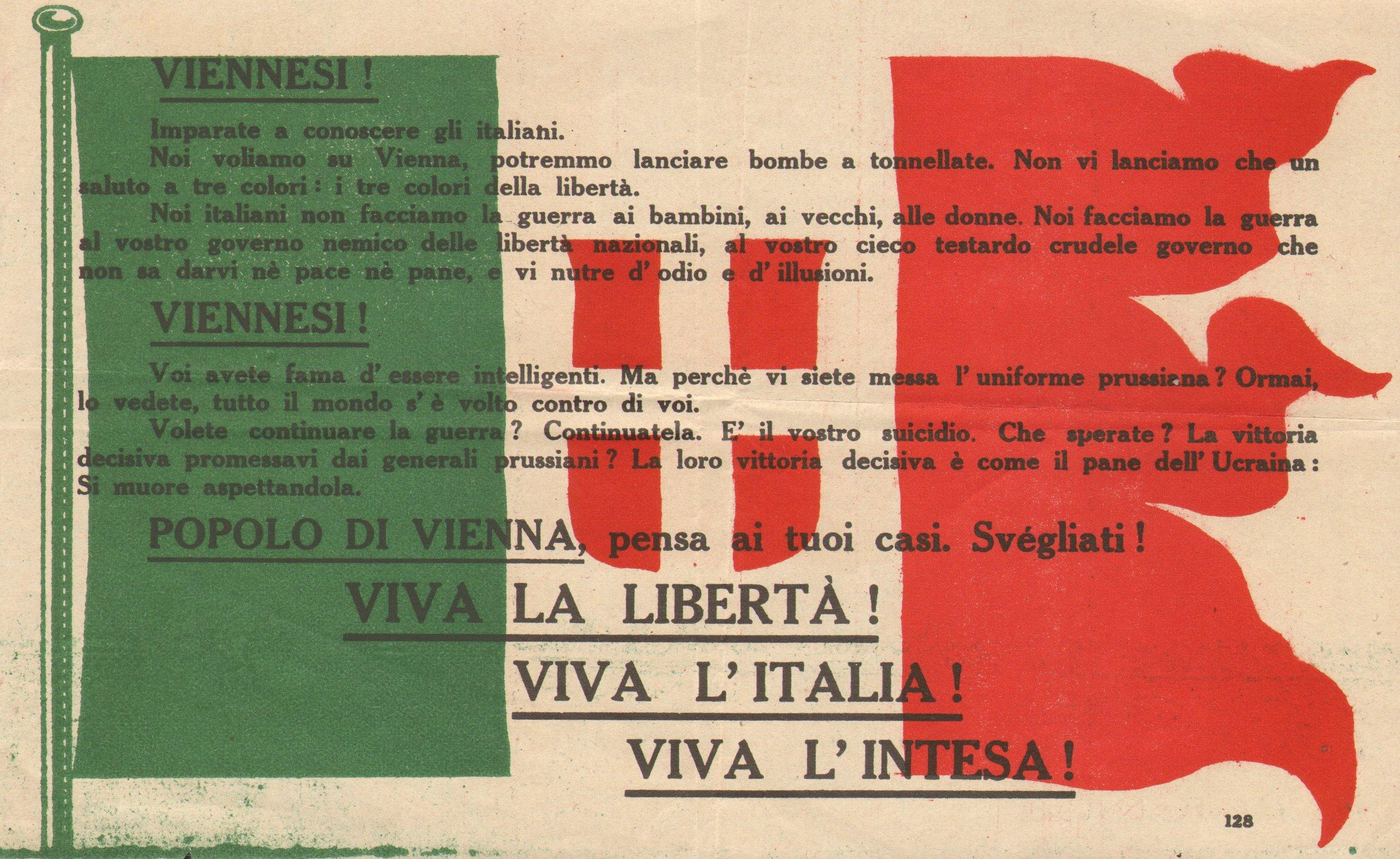 """""""La Tradotta"""", il giornale di trincea della 3^ Armata. 1918/1919 – (seconda e ultima parte)"""