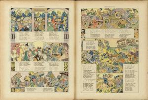 Rubino: doppia pagina centrale del n. 13