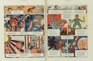 Rubino: doppia pagina centrale del n. 21