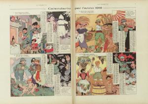 Rubino: pagina doppia centrale del n. 22