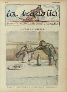 Sacchetti: copertina del n. 25, l'ultimo della collana