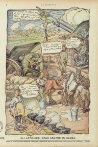"""Mazzoni: pagina finale del n. 25 e dell'intera serie della """"Tradotta"""""""