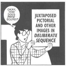 """La definizione di """"fumetto"""" secondo McCloud"""