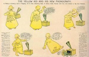 """Yellow Kid e il primo, vero """"fumetto"""" (1896)"""