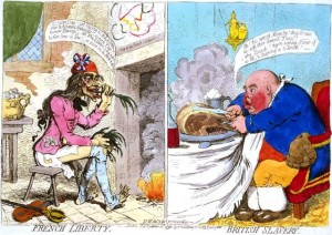 James Gillray, 1792