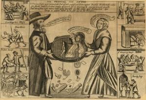 Anonimo inglese (prima metà del '700): Il Figliol Prodigo Setacciato