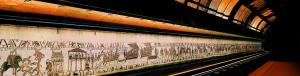 Come la Tela si presenta ai visitatori del Museo di Bayeux
