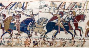 Scene di combattimento nella Tela della Conquista