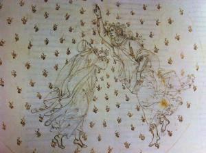 I differenti espedienti grafico-narrativi usati da Botticelli per il Paradiso