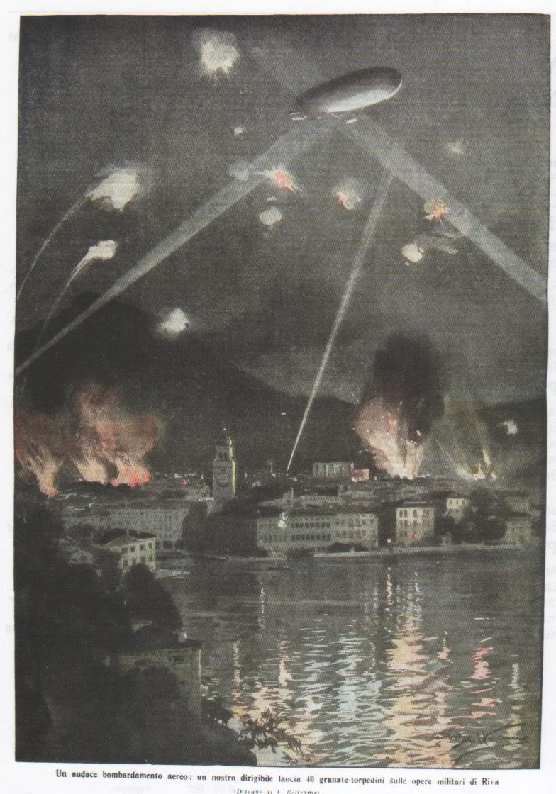 Un audace bombardamento aereo