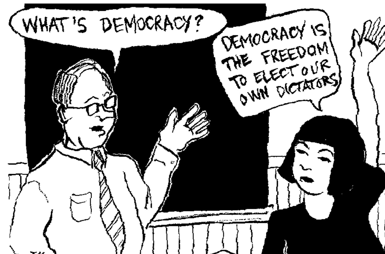 Democrazia morta, sepolta, kaputt…