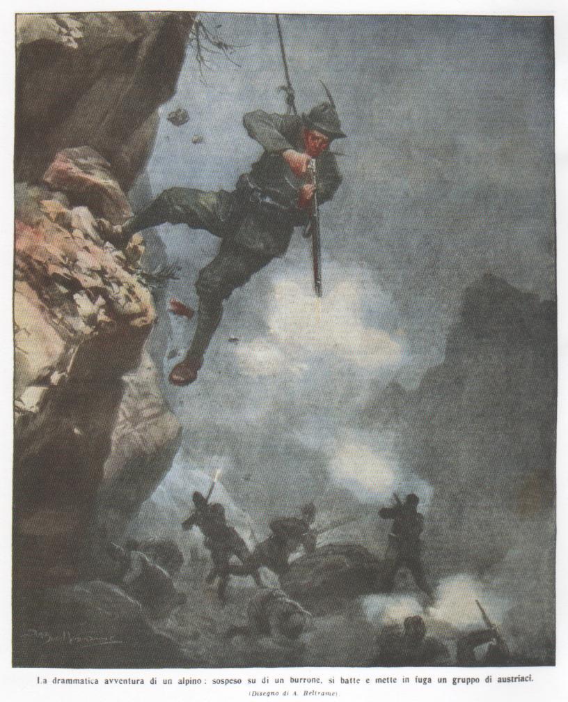 La drammatica avventura di un alpino