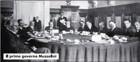 1923: il primo anno del governo Mussolini
