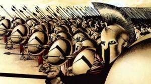 Gli Spartani.