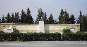 Monumento di oplite alle Termopili.