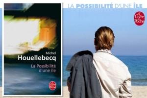 Un'edizione francese del romanzo La possibilità di un'isola (2005), con un fotogramma del film che ne è stato tratto