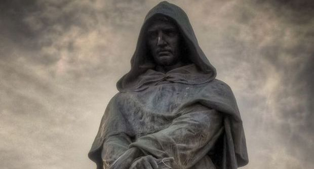 A Giordano Bruno (1548-1600) – Manfredi Aureo Dal Piombo