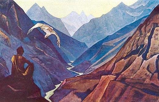 Nel silenzio dei monti l'altro… – Mario Michele Merlino