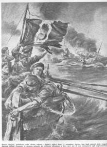 in quelle ore di angoscia e  vergogna, che gruppi di giovani e  meno giovani, decisi a difendere la loro dignità di italiani e di soldati