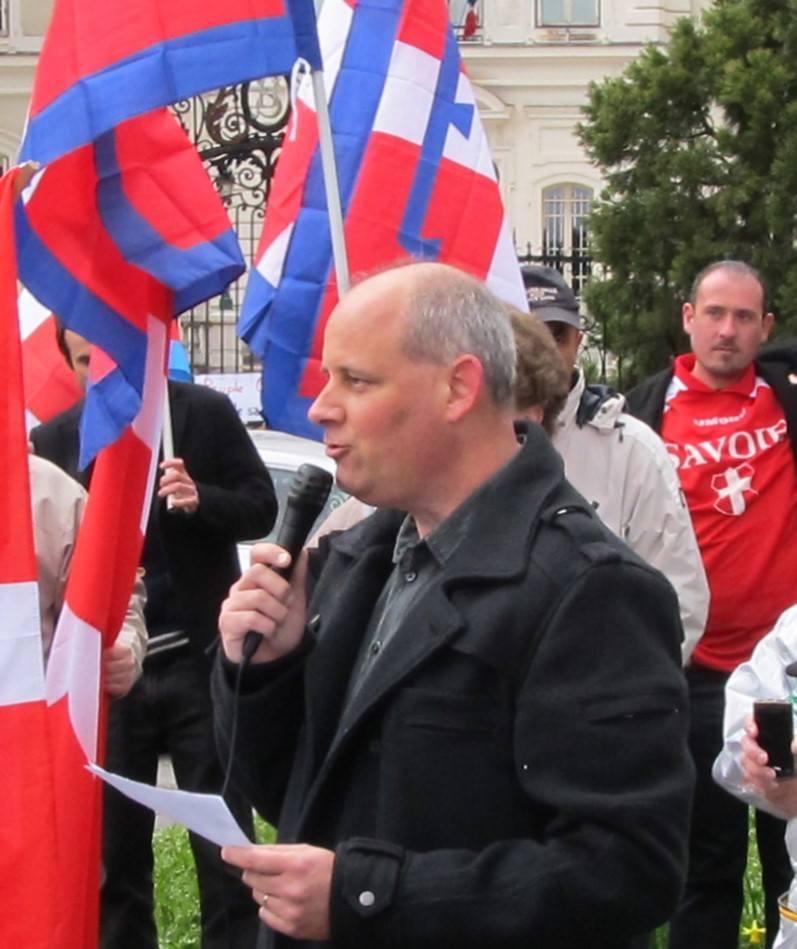 Solidarietà per il patriota savoiardo Fabrice Dugerdil