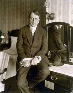 """L'editore e """"mecenate fumettista"""" William Randoplh Hearst ritratto nel 1905"""