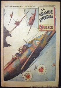 """Il n. 400 della rivista """"L'Audace"""", uscito nel 1942 (gestione Bonelli)"""