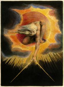 Il Demiurgo, nell'onirica interpretazione settecentesca di William Blake