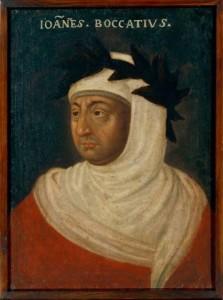 Giovanni Boccaccio, ritratto da un anonimo artista francese nel 1621