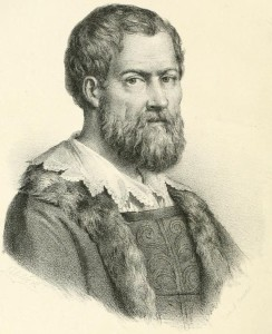 Matteo Maria Boiardo, in un'incisione ottocentesca