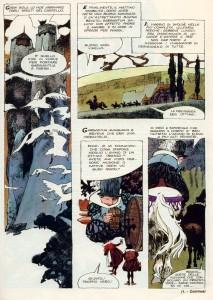 Gargantua e Pantagruele, nella straordinaria interpretazione fumettistica di Dino Battaglia