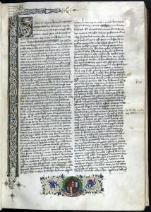 Una trascrizione quattrocentesca su pergamena delle Genealogie