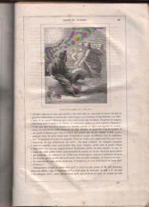 Il Sogno di Platone di Voltaire in un'incisione settecentesca, dove appare anche Demogorgone