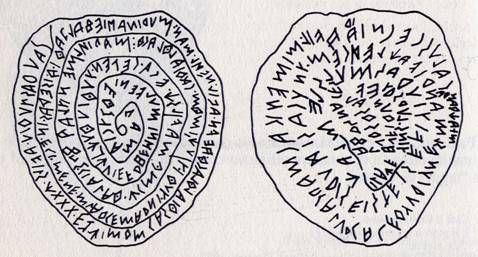 """Il Piombo Etrusco di Magliano a forma di """"cuore"""""""