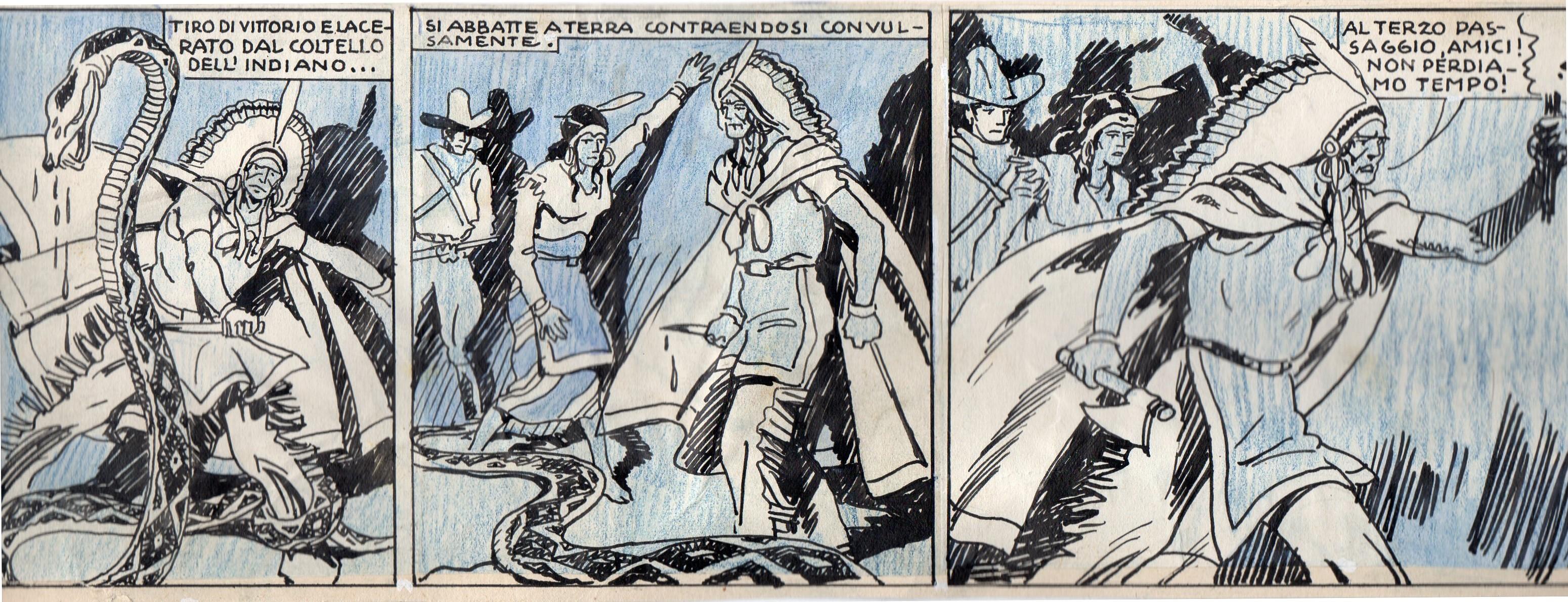 Fascismo & Fumetto: Ulceda, il western autarchico