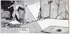 Elementi del 1935 in Ulceda: la lampadina tascabile a batteria di Vittorio